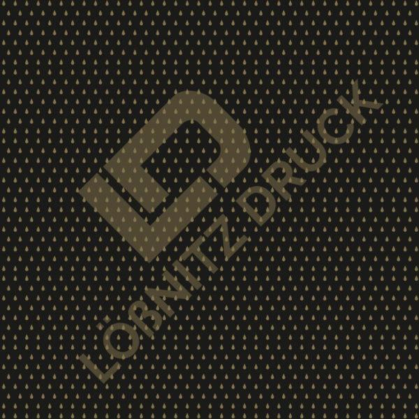 Bastelpapier Black and Gold Bohemian Muster 04
