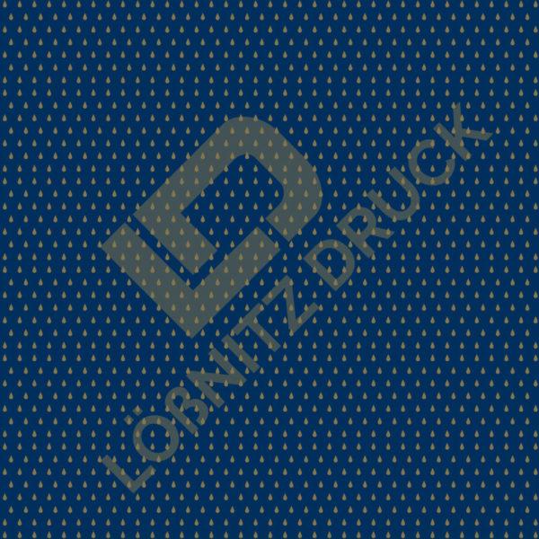 Bastelpapier Blue and Gold Bohemian Muster 04