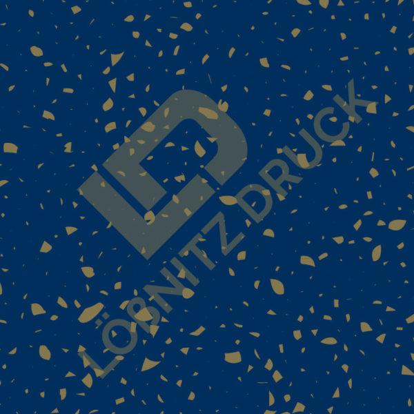 Bastelpapier Blue and Gold Bohemian Muster 06