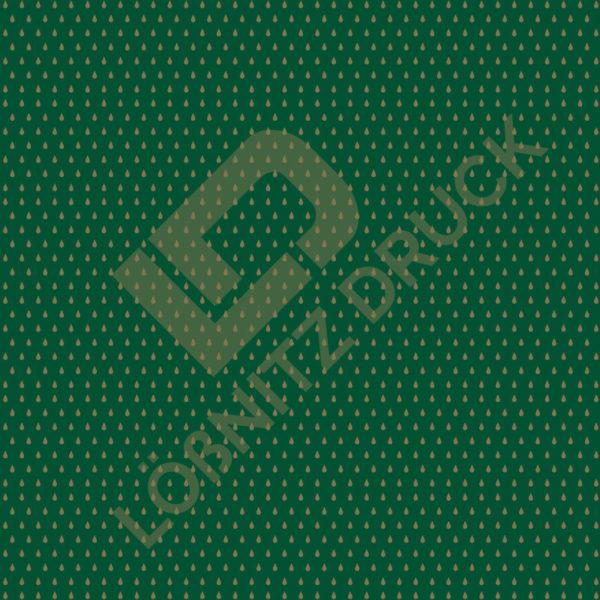 Bastelpapier Green and Gold Bohemian Muster 04