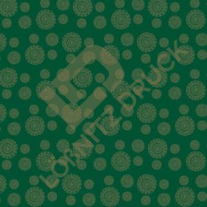 Bastelpapier Green and Gold Bohemian Muster 05