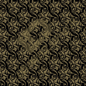Bastelpapier Black and Gold Bold Muster 02