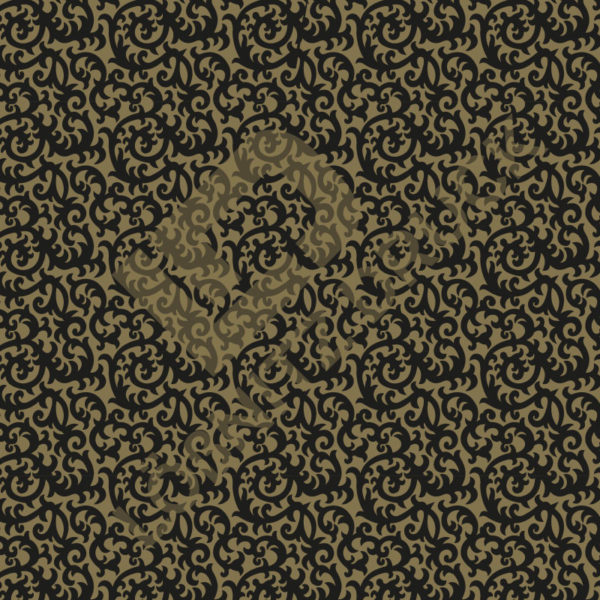 Bastelpapier Black and Gold Bold Muster 06