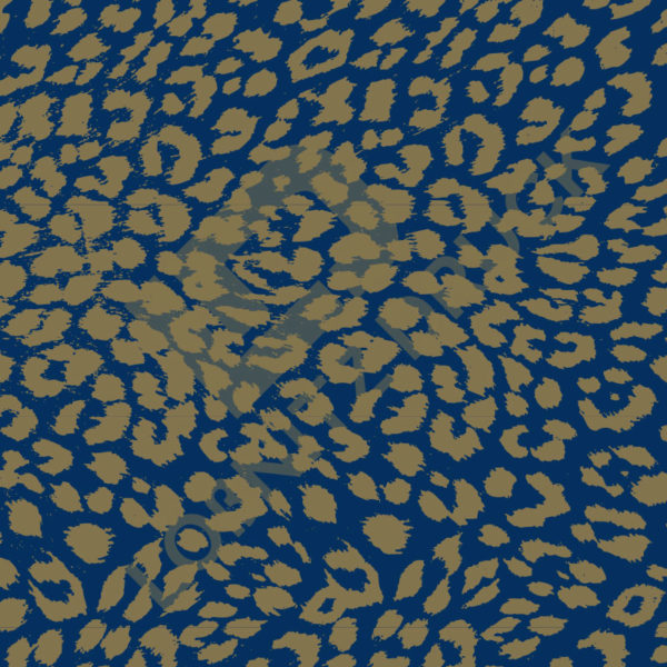 Bastelpapier Blue and Gold Bold Muster 01