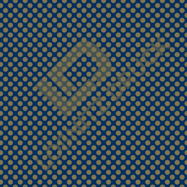 Bastelpapier Blue and Gold Bold Muster 03