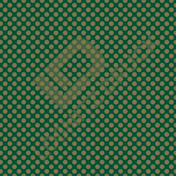 Bastelpapier Green and Gold Bold Muster 03