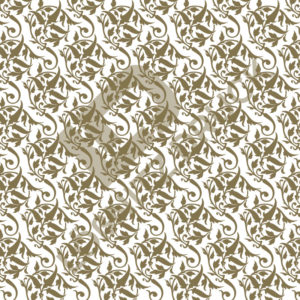 Bastelpapier White and Gold Bold Muster 02