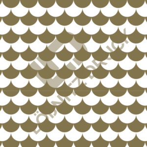 Bastelpapier White and Gold Bold Muster 04