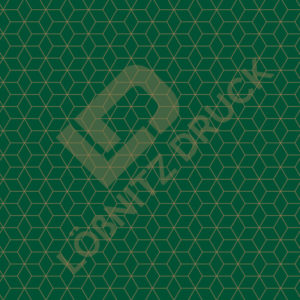 Bastelpapier Green and Gold Geometric Muster 01