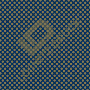 Bastelpapier Blue and Gold Dots Muster 02