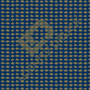 Bastelpapier Blue and Gold Dots Muster 05