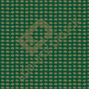 Bastelpapier Green and Gold Dots Muster 04