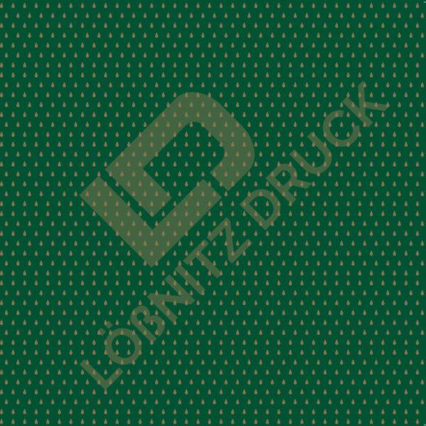 Bastelpapier Green and Gold Dots Muster 05