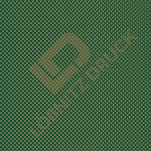 Bastelpapier Green and Gold Dots Muster 06