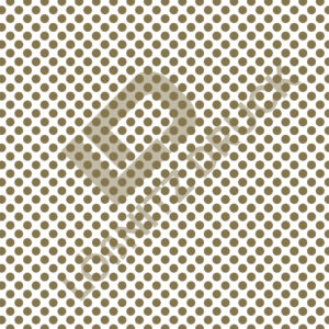 Bastelpapier White and Gold Dots Muster 02
