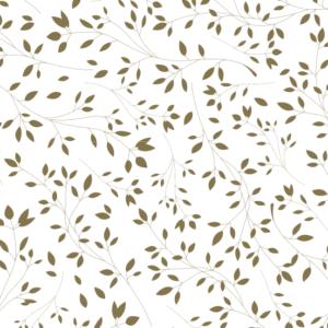 Platzdeckchen Motiv Floral, gold