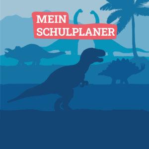 Cover des Hausaufgabenheftes Dinosaurier