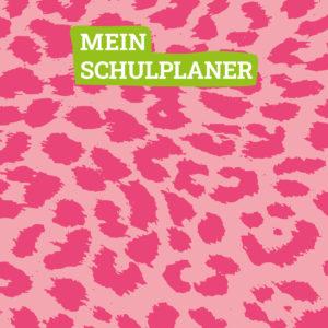 Cover des Hausaufgabenheftes mit Leoprint