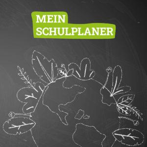 Cover des Hausaufgabenheftes mit Unsere Erde