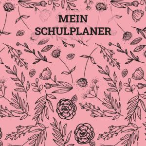 Cover des Hausaufgabenheftes Rosen