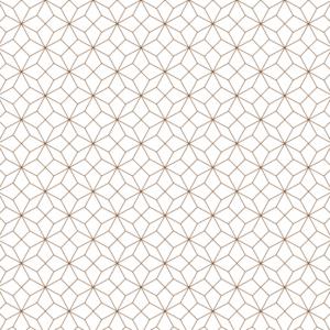 Platzdeckchen Geometric Metalleffekt bronze